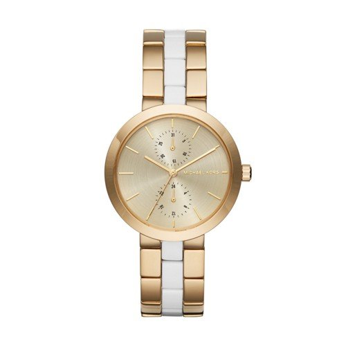 Michael Kors Women's Garner Gold-Tone Watch MK6472 by Michael Kors