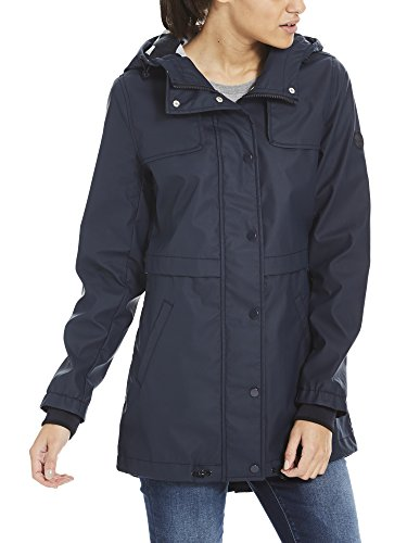 Rainjacket Slim Bonded Azul essentially Mujer Para Bl11341 Navy Impermeable Bench AEq5A