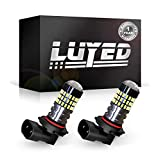 LUYED 2 X 900 Lumens Super Bright 3014 78-EX Chipsets H10 9140 9145 Led Bulbs Used For DRL or Fog Light,Xenon White
