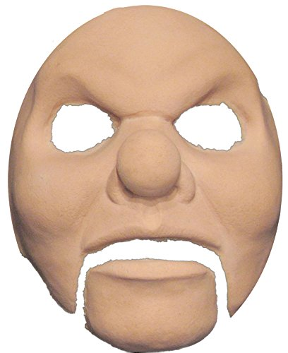 UHC Men's Scary Prosthetic Killer Clown Face Horror Party Latex Halloween (Halloween Clown Prosthetic Masks)