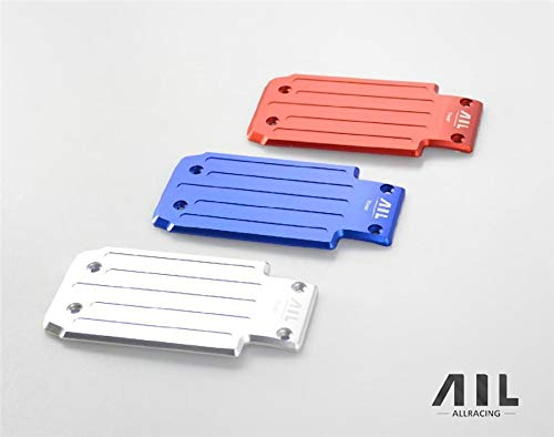 Part & Accessories AIL RC 6061-t6 CNC Alloy Rear Chassis Plate Set for 1/5 Traxxas X-MAXX - (Color: White)