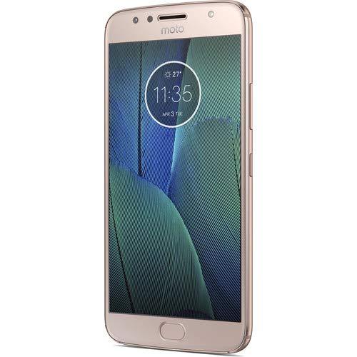 Motorola Gsm Phones Mobile (Motorola Moto G5S Plus Unlocked GSM Android Smartphone (Blush Gold))