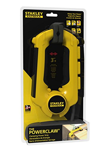 Stanley 32050 Grounded 3 Outlet Clamping