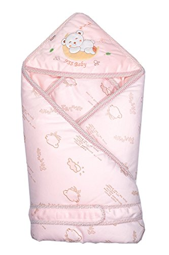 pink-minies-baby-wrap-swaddle-blanket-soft-organic-cotton-best-baby-shower-gift-for-boys-girls-unise