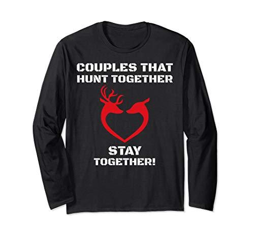 Hunting Couples T-Shirt Funny Deer Hunting Buck & Doe -