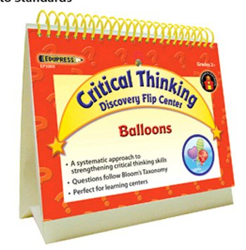 Edupress Ep-3005 Discover Critical Thinking Flip Center Foam Cups ()