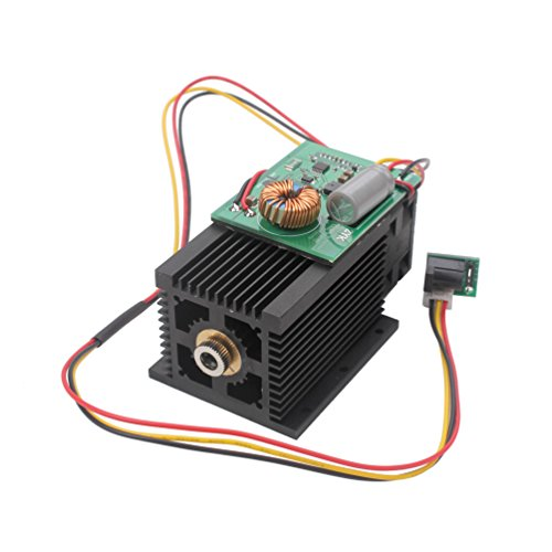 SUNWIN High Power 5W 5000mW Blue Laser Module 450nm For DIY Laser Engraving Cutting