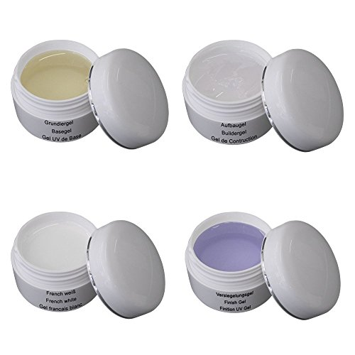 UV Gel Set Classic 4 x 5ml