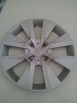 Juego de Tapacubos 4 Tapacubos Diseño Peugeot 208 Desde 2012 r 15: Amazon.es: Coche y moto