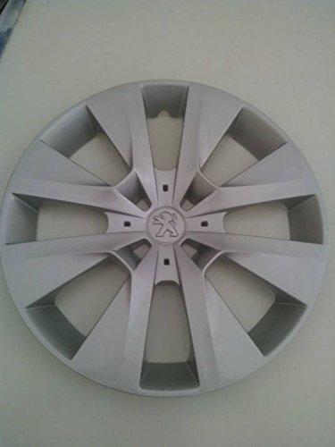 Lot de 4 Enjoliveurs Enjoliveur Boutons Clous de voiture Coupes Rivets Roue Peugeot 208 r 15 depuis 2012 Sc 808