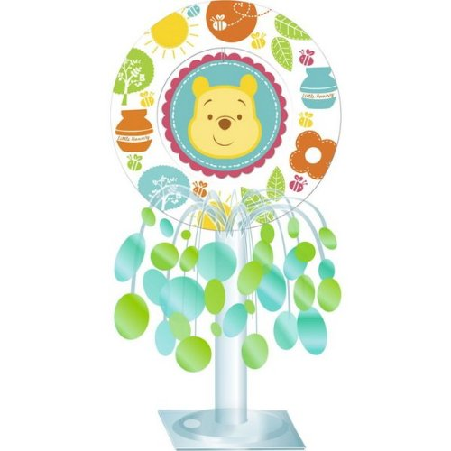 Winnie the Pooh 'Little Hunny' Baby Shower Centerpiece (1ct) (The Pooh Winnie Centerpiece)
