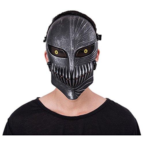 Intimidating face mask