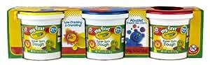 Crayola My First Crayola Super Soft Dough 3-Pack (Red/Blue/Yellow)