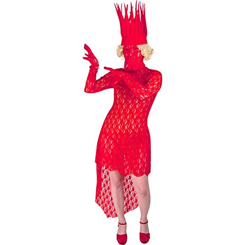 FunFill Bad Romance Red Lady Costume