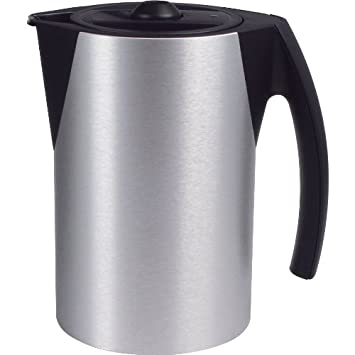 Porsche Design Thermos Kettle Original No.: 26.4701 Type TZ 91100 Brushed  Silver