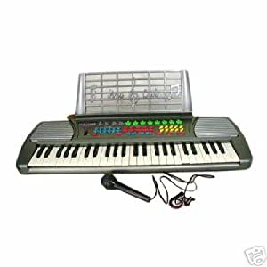 new 49 key electric keyboard beginner electronic piano musical instruments. Black Bedroom Furniture Sets. Home Design Ideas