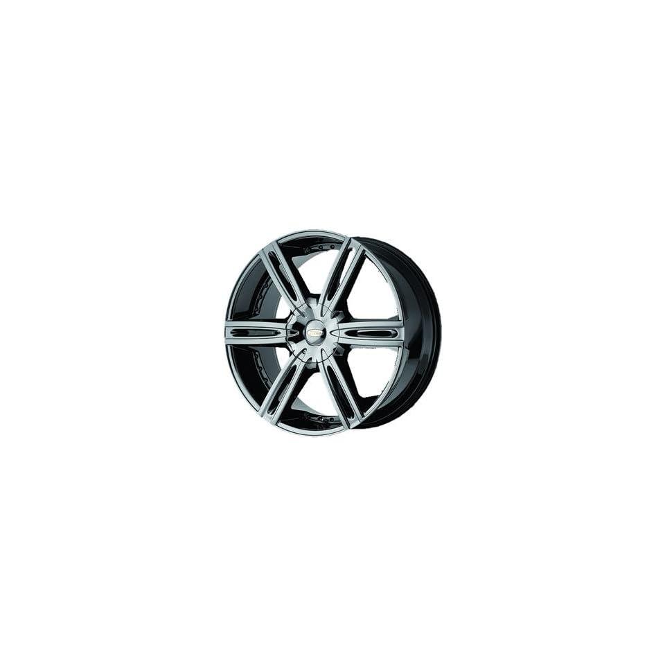 Diamo DI039 18x8 Black Chrome Wheel / Rim 5x4.5 & 5x120 with a 38mm Offset and a 74.10 Hub Bore. Partnumber DI03988017938