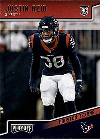 5ab541b4c 2018 Panini Playoff #263 Justin Reid Rookie RC Rookie Houston Texans NFL  Football Trading Card