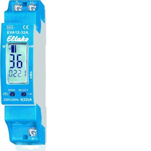 Contador digital de consumo energ/ético Eltako EVA12-32A