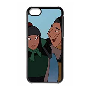iPhone 5c Cell Phone Case Black Disney Mulan Character Ling 002 VS5321273