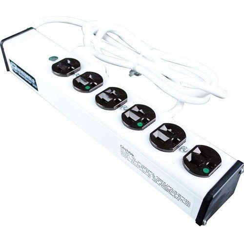 C2G/Cables to Go 16308 15' Wiremold 6-Outlet Plug-In Center Unit 120v/15a Medical Grade Power Strip by C2G/ Cables To Go