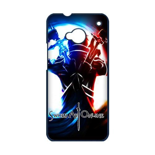 Manga Sword Art Online HTC ONE M7 Nice Durable Hard Case Cover (Cute Easy Costumes)