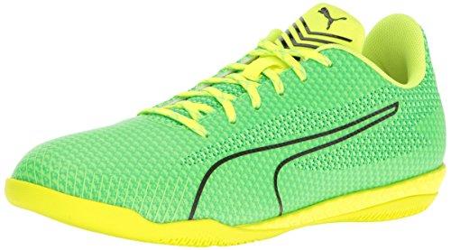 PUMA Men's 365 Ignite ct Soccer Shoe, Green Gecko Black/Andean Toucan/Safety Yellow, 9.5 M US (Puma Shoes Men Futbol)
