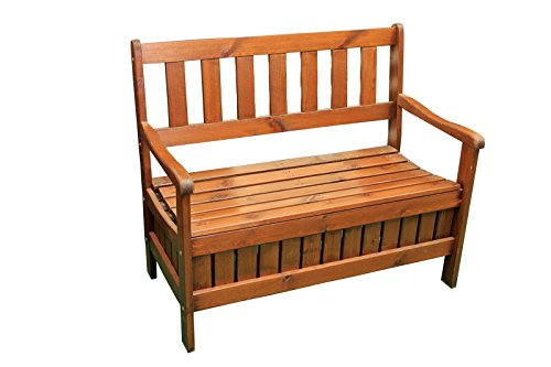 Gartenbank mit stauraum 107x43x58cm g nstig online kaufen - Gartenmobel mit stauraum ...