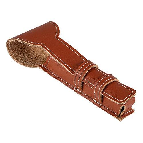 Manual Shaver Shaving Razor Holder Bag Cowhide Safety Classic Double Edge Shaving Leather Pouch Razor Bag Case Storage