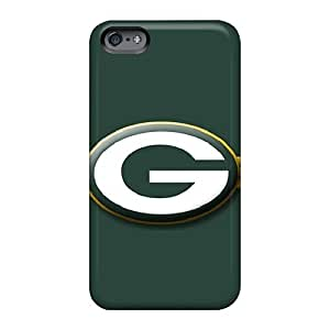 Anti-Scratch Hard Phone Case For Apple Iphone 6s With Support Your Personal Customized Nice Green Bay Packers Skin Customcases88
