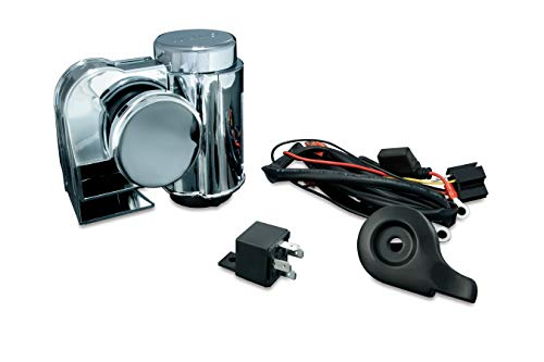 - Kuryakyn 7742 Deluxe Wolo Bad Boy Air Horn Kit for 1995-2019 Harley-Davidson Motorcycles, Chrome