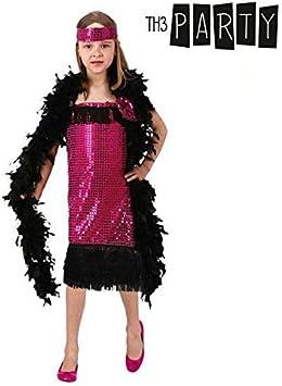 Atosa-94578 Disfraz Charleston Fucsia, Color, 5 a 6 años (94578 ...