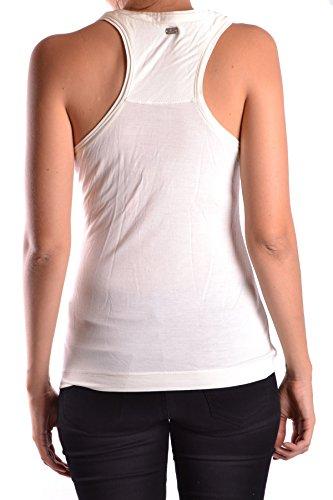 Peuterey Femme MCBI235057O Blanc Viscose Tank Top