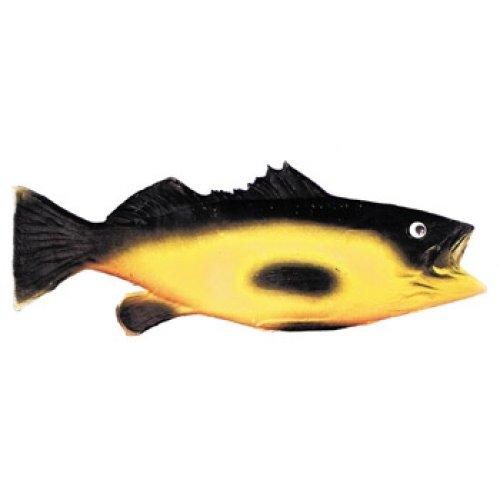 Black/Yellow Rubber Fish (Giant Fish Costume)