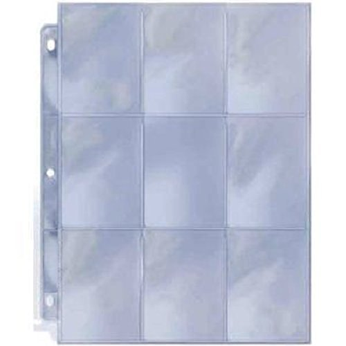 25 count pack 9 Pocket Coupon Page Protectors
