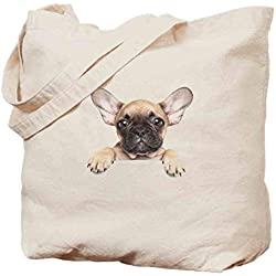 Tote bag,Pedigreed Young Puppy Close-up Best Friend Pet Lover,Environmentally friendly Tote bag,for durability.Imported printing technology never fade -14x17in