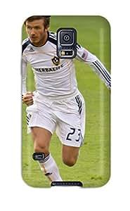 FadlxCS2929WHdiq Case Cover, Fashionable Galaxy S5 Case - David Beckham Soccer