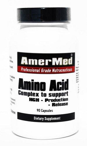 Complexe d'acides aminés pour soutenir la production de HGH parution - 90 capsules!!