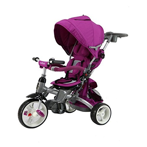 Evezo Samzio 4-in-1 Stroller and Trike (Purple) by Evezo