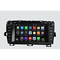 8 Inch Quad Core 1024*600 Android 5.1 Car DVD GPS Navigation Player for Toyota Prius 2009-2013 (Right Driving) With Radio Bluetooth 3G Wifi Steering Wheel Control