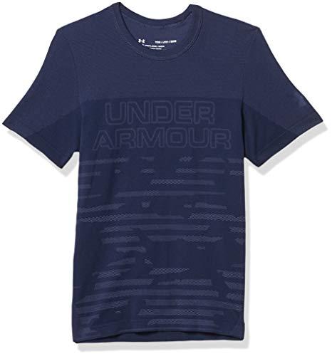 Under Armour Herren, sportliches und atmungsaktives T-Shirt, bequemes Sportshirt mit Anti-Odor Technologie und 4-Wege-Stretch 1343392-408