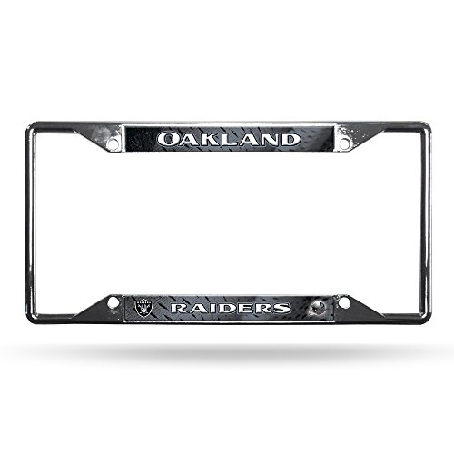NFL Oakland Raiders Chrome Plate Frame for sale  Delivered anywhere in Canada
