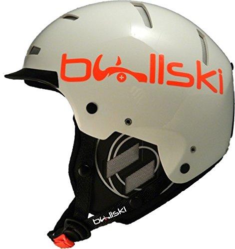 BULLSKI(ブルスキー)スノーヘルメット WILDER ワイルダー 白い(ホワイト)  XS/M=54/57