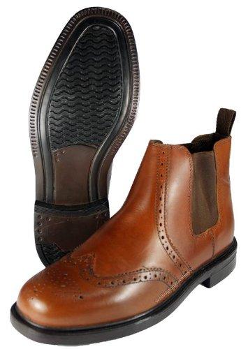 Oaktrak  Appleby,  Herren Chelsea Boots Chestnut Brown