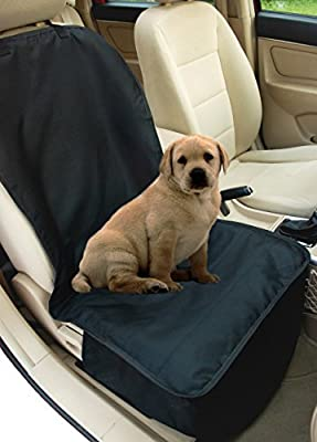 NAC&ZAC Deluxe Waterproof Bucket Pet Seat Cover for Cars and SUV with Seat Anchors, Quilted, Nonslip, Entire Seat Protection, Machine Washable Dog Seat Cover, Lifetime Warranty