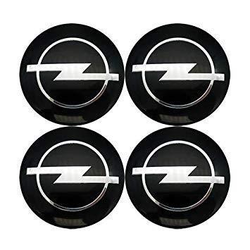 4pcs 56mm Opel Badge Decal Wheel Center hub caps Emblem ...