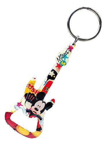 (Disney Mickey Guitar Bottle Opener Key Ring)
