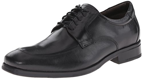 Feldon Lace Men's amp; Calfskin Moc Up Johnston Black Murphy Oxford qtSv7