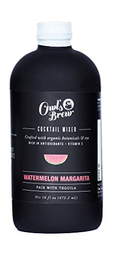 Owl's Brew Watermelon Margarita Cocktail Mixer, 16 Ounce ()