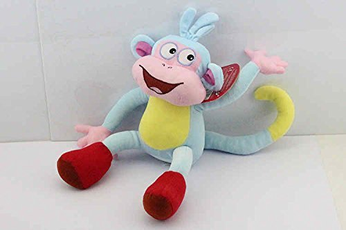 [Dora the Explorer Boots Monkey 13 Inch Toddler Stuffed Plush Kids Toys] (Dora Diego And Boots)